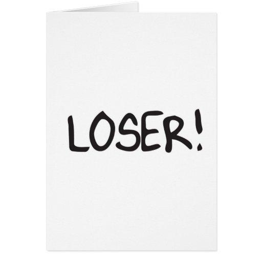 loser card | Zazzle