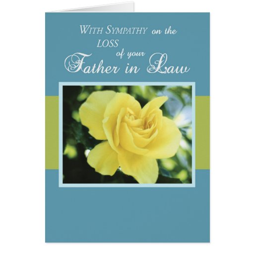sympathy quotes for loss of father in law