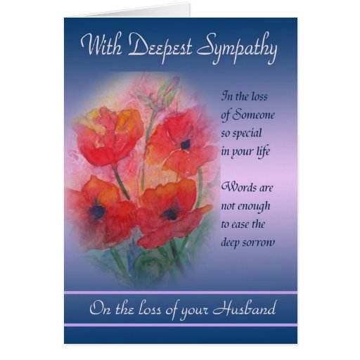 Sympathy Quotes For Loss Of Husband And Father: Quotes About Loss Of Husband. QuotesGram