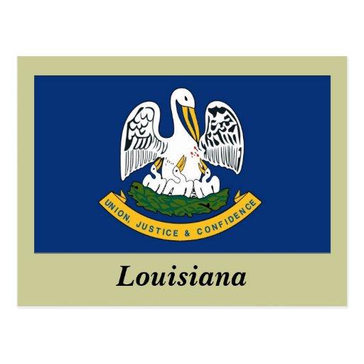 Louisiana State Flag Postcard   Zazzle