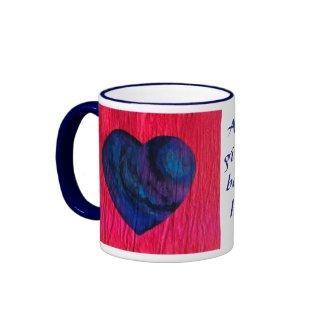 Love Comes Back mug