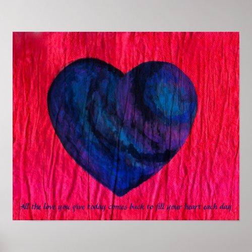 Love Comes Back print