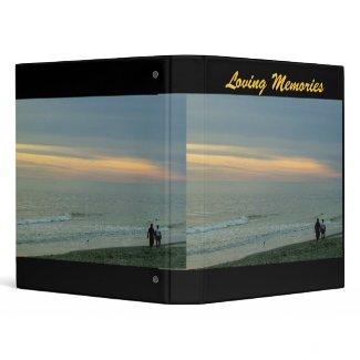 Loving Memories Sunset Along Ocean Binder binder
