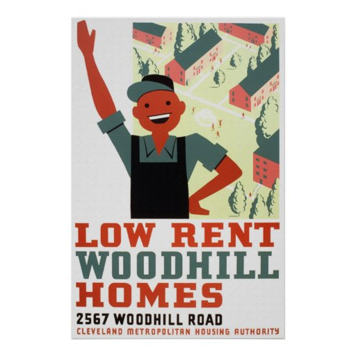 Low Rent House: Low Rent Woodhill Homes Poster
