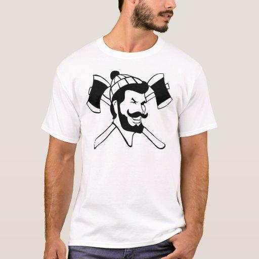 Lumberjack Logger T Shirt Zazzle