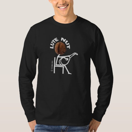 Lute Nut Long Sleeve T-Shirt