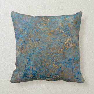 Blue And Gold Pillows Blue And Gold Throw Pillows Zazzle