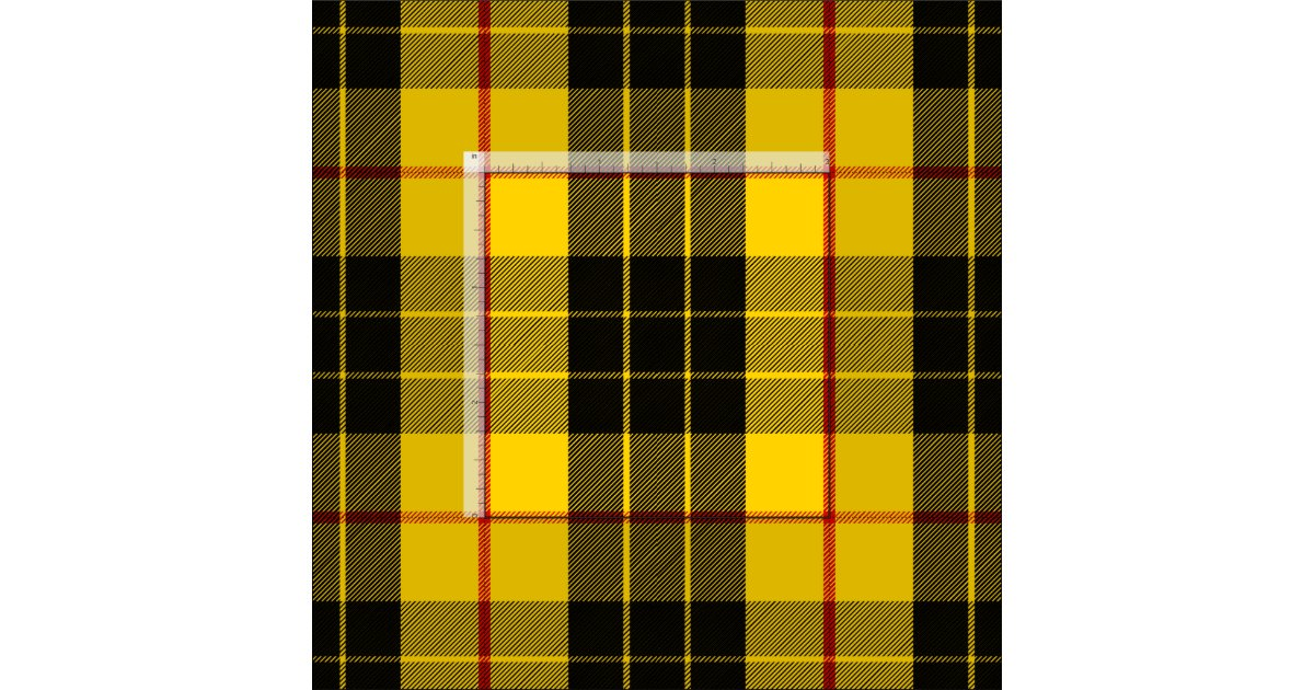 Macleod Tartan Print Fabric Zazzle