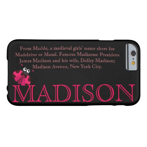 what does the name madison mean in english