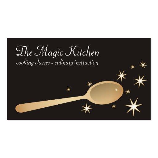 Wooden spoon Business Card Templates | BizCardStudio