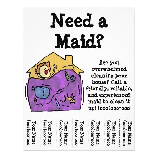 58+ House Cleaning Flyers, House Cleaning Flyer Templates ...