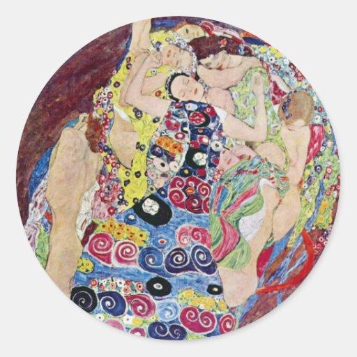Klimt maiden the virgin