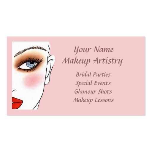 39e1b8e1610 Makeup Artist Business Card Templates - Page72 | BizCardStudio