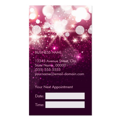 6 Etl Business Requirements Specification Template Reyri: Makeup Artist Cosmetician Beauty Appointment Card Business