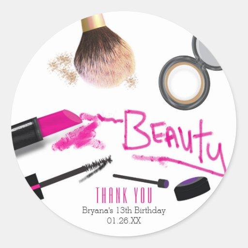 Makeup party favors