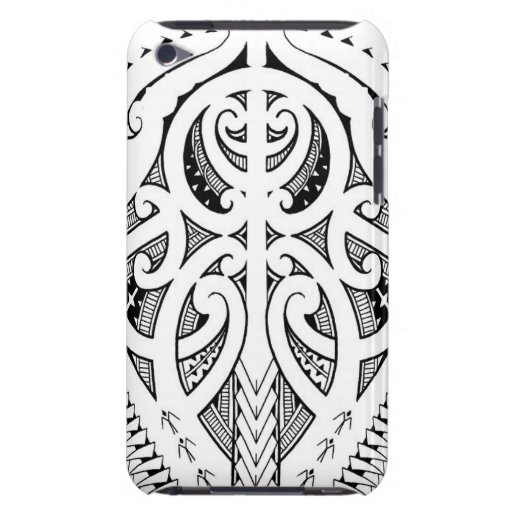 Maori Tattoo Design With Bird Elements Barely There IPod