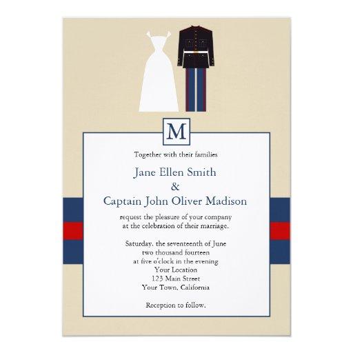 Marine Wedding Invitations