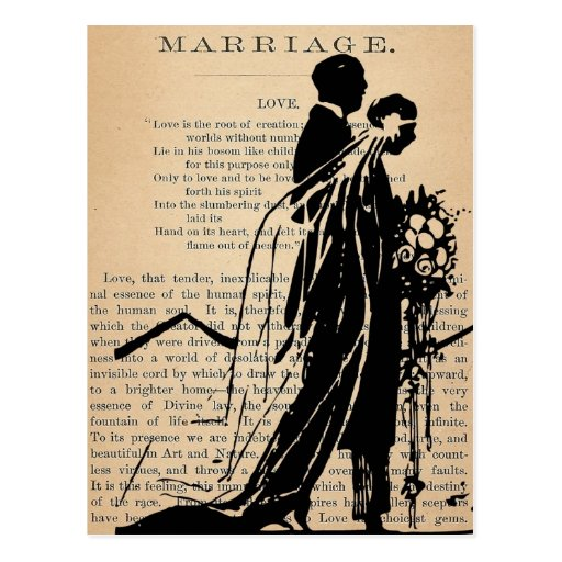 Wedding Poems For Bride And Groom: Marriage Poem By Longfellow Bride Groom Silhouette