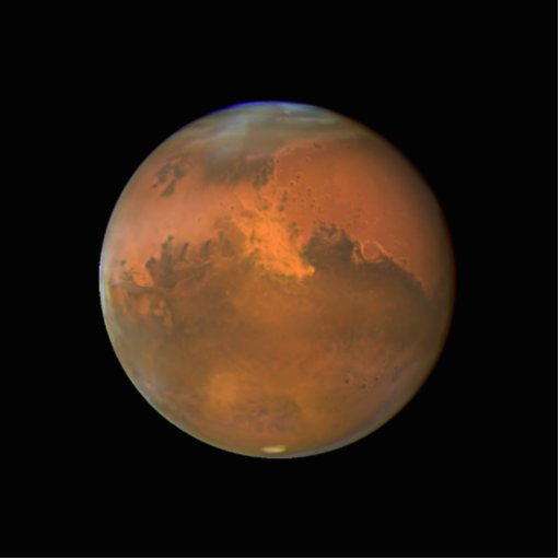 hubble telescope weird thing in mars - photo #6