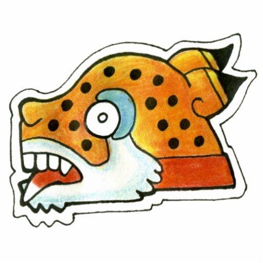 Mayan Jaguar: Mayan Jaguar Symbol Photo Cut Outs