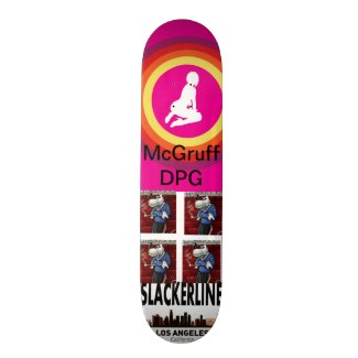 MCGRUFF DPG SLACKERLINE BOARD SKATEBOARD