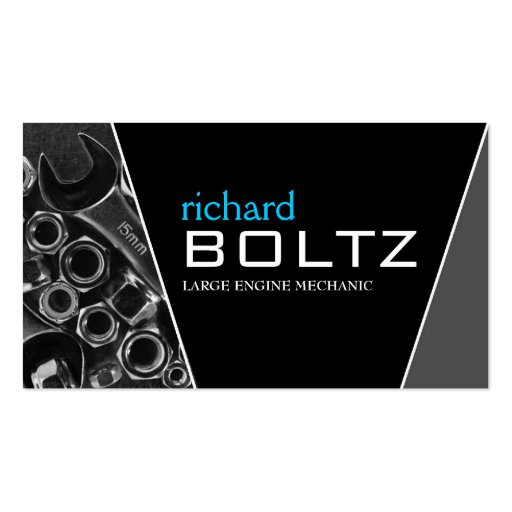 Mechanic Business Cards Zazzle