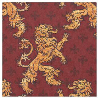 Rampant Fabric Zazzle