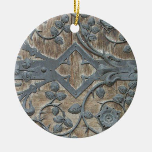 Medieval Lock Christmas Tree Ornaments