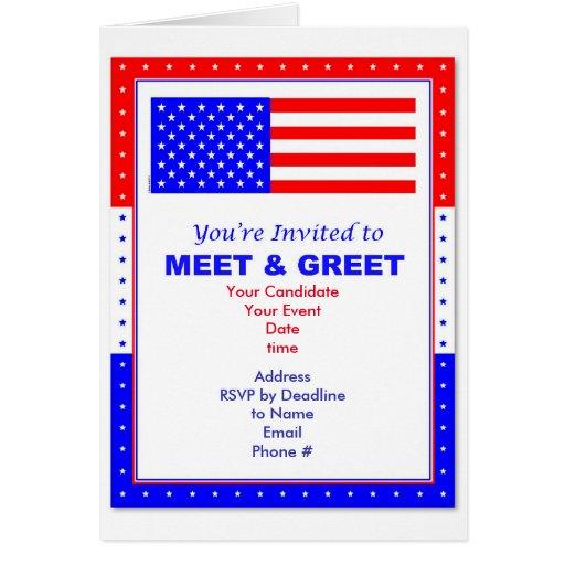 meet greet invitation template