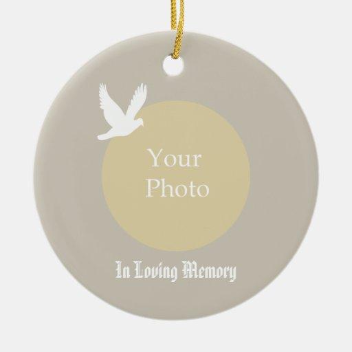 Memorial Christmas Ornament - In Loving Memory | Zazzle