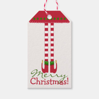 Girl elf, Gift tags and Elves on Pinterest  |Christmas Elf Tag