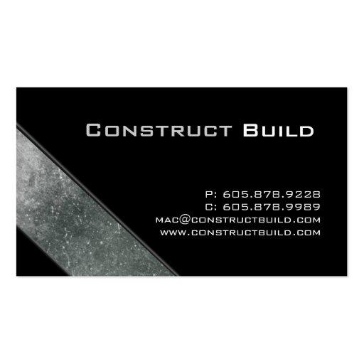 Construction Business Card Templates Page52 Bizcardstudio