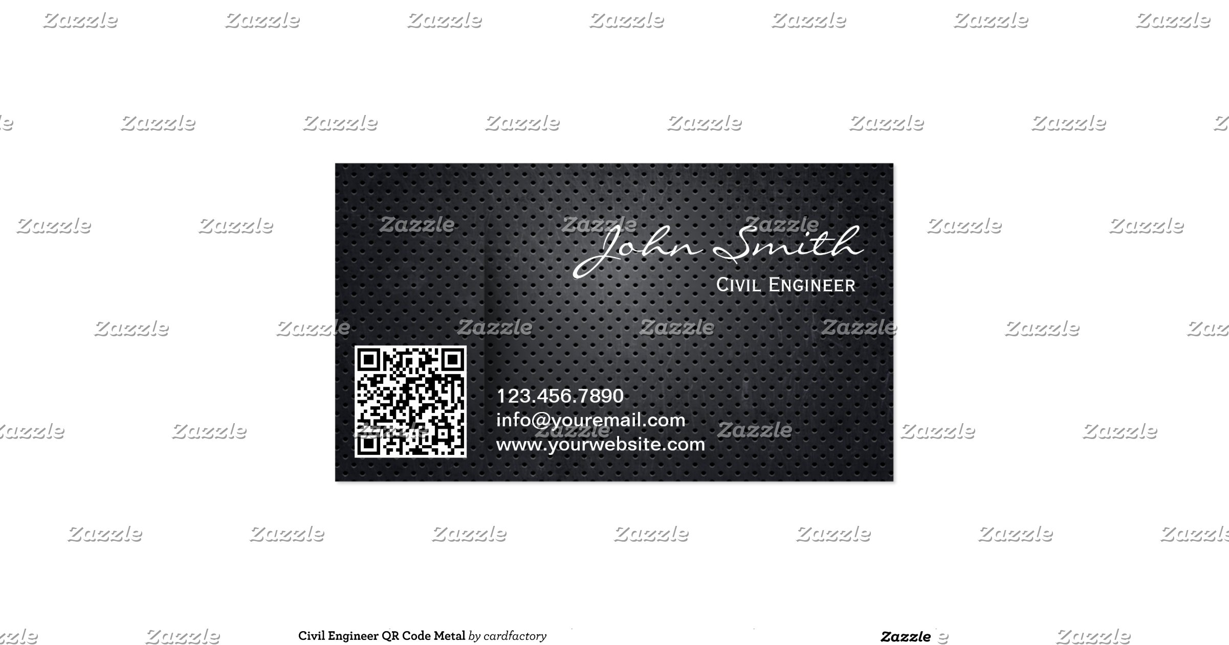 metal qr code civil engineer business card r3c6dbe4d15c54ce2a06c85dc3eae85d2 i579t 8byvr 1200. Black Bedroom Furniture Sets. Home Design Ideas