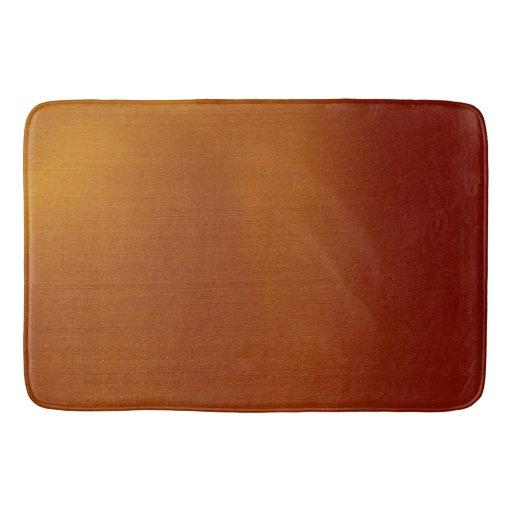Metallic Copper Bath Mat Zazzle