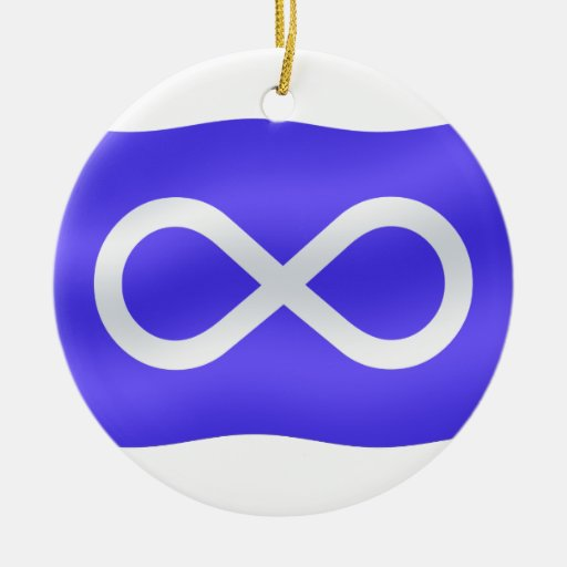 Metis Flag Ornament First Nations Keepsakes | Zazzle