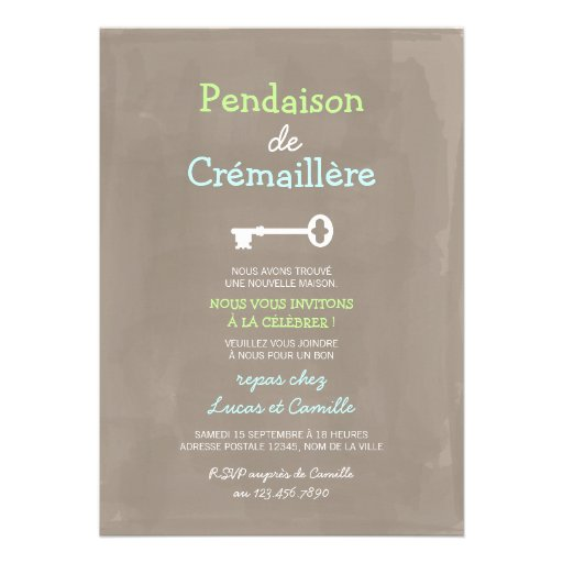 Pendaison De Crémaillère Invitation : mignon pendaison de cr maill re invite zazzle ~ Melissatoandfro.com Idées de Décoration