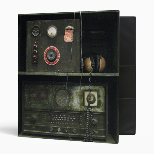Military Comms Vintage Radio Equipment 3 Ring Binder