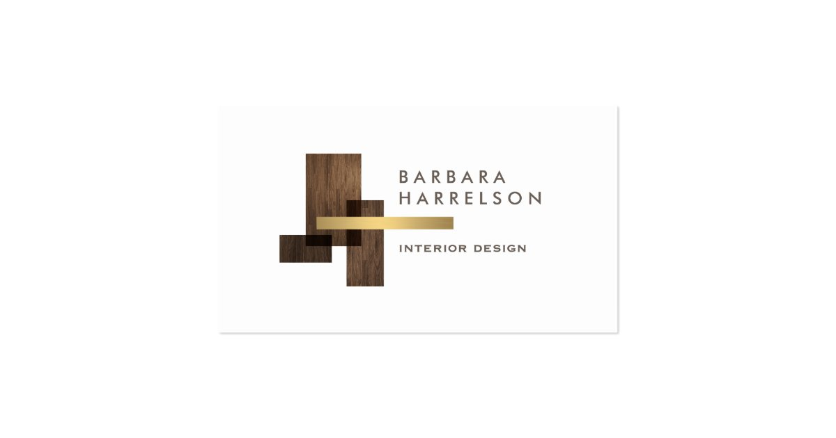 Modern Architectural Interior Design Logo Business Card ...