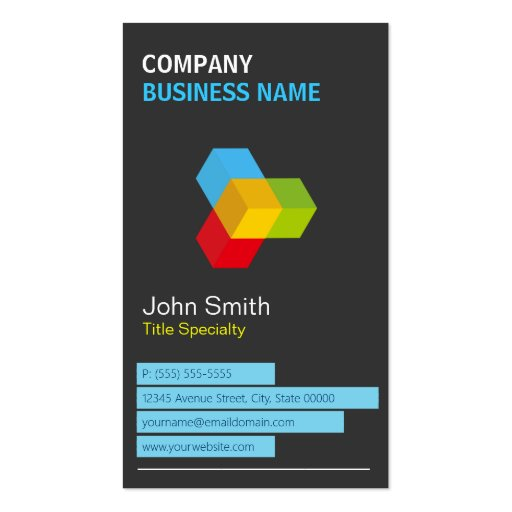 Occupational The Business Card