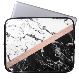 Rose Gold Laptop Sleeves Amp Cases Zazzle