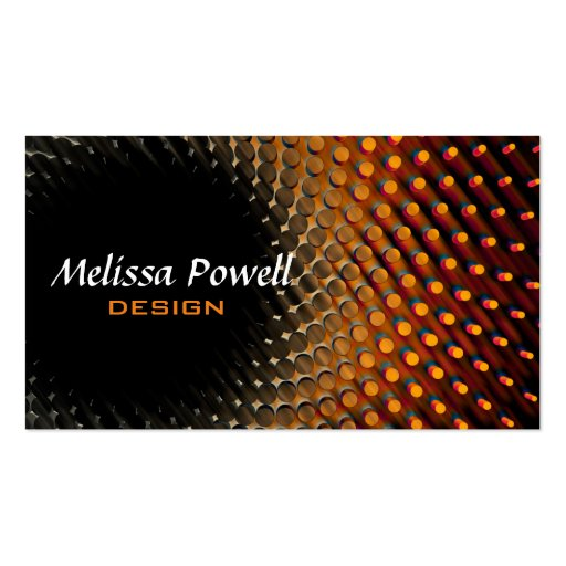 Modern chic business card template double sided zazzle for 2 sided business cards templates free