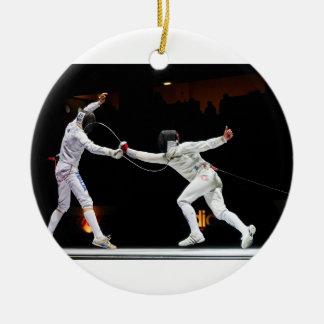 Fencing Christmas Ornaments & Fencing Ornament Designs ...