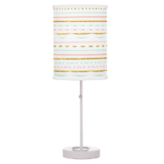 Pink And Gold Table Amp Pendant Lamps Zazzle