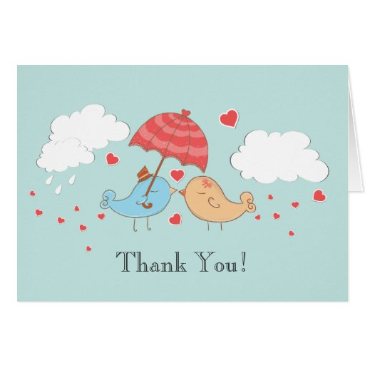Thank You Note Wedding Gift: Bridal Shower Thank You Notes Gifts