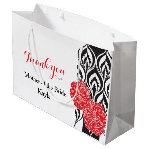 Modern Wedding Gifts: Modern Luxe Wedding Brides Mother Favor Gift Bag