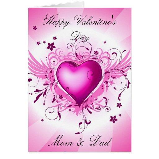 Mom & Dad Valentine's Day Card