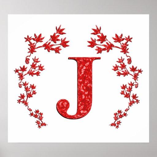 Fancy Letter J D...J Design Letter