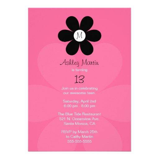 Teen Birthday Invitation 75