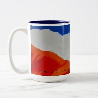 Monte Sainte Victoire from Roques Hautes mug