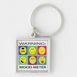 Mood Face Keychains | Zazzle